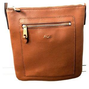 Ralph Lauren Crossbody Leather Bag